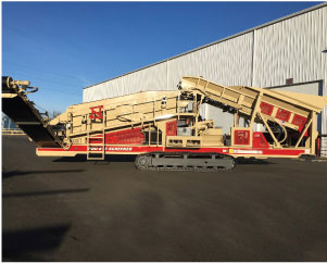 Crushing and screening equipment for California, Arizona, Nevada