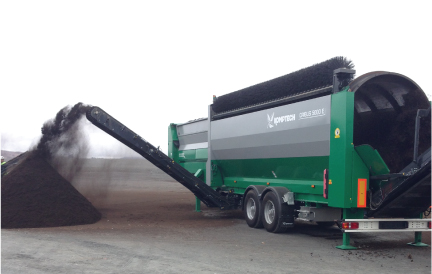 Composting equipment for California, Arizona, Nevada