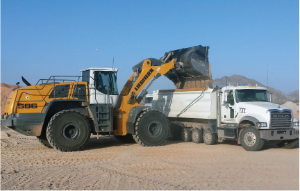 Heavy construction equipment for California, Arizona, Nevada