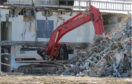 Demolition equipment for California, Arizona, Nevada